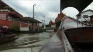 POV River boat Thailand