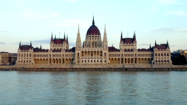 River Danube and Parliament building Budapest