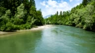 River Enns - aerial view - source file cinema dng