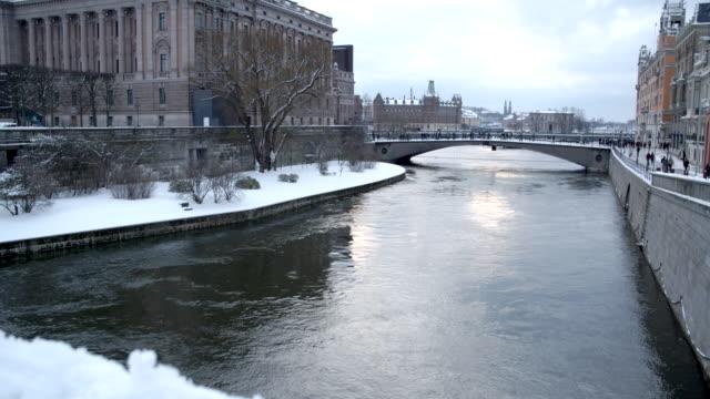 River in the Winter / Stockholm, Sweden