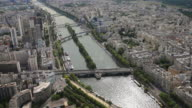 River Seine from above