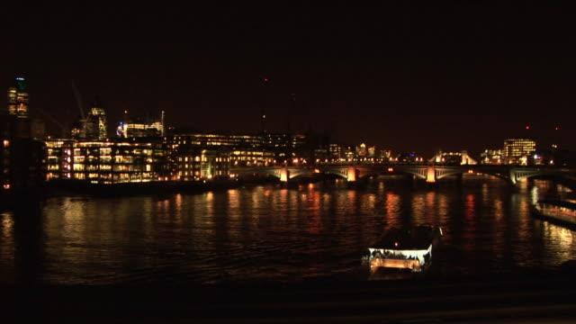 River Thames at Night, London 1 - HD & PAL