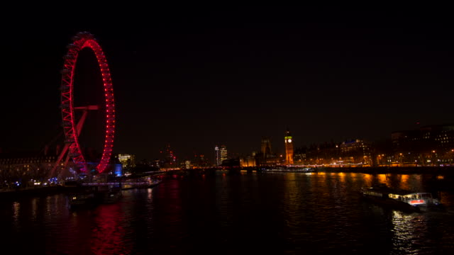 River Thames london eye westminster