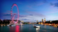Themse in London