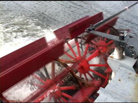 Riverboat Paddlewheels