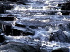 Riverfall background + sound. Progressive Frames