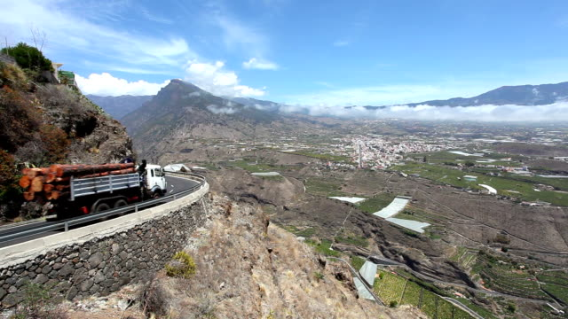 Road in La Palma, Canary Islands