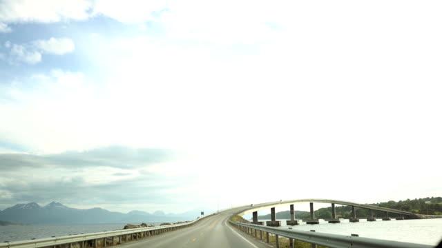 Road in Noorwegen