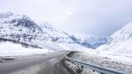 Road in Norwegen