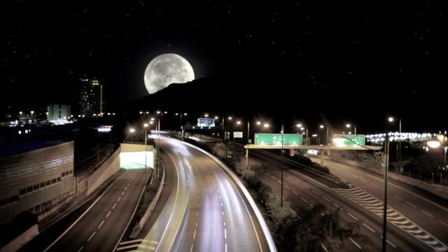 Weg naar de maan