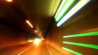 POV T/L Road Tunnel Drive