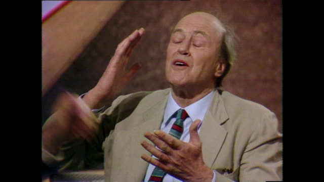 Roald Dahl says that his 'horror' stories are actually funny stories not designed to 'frighten the life out of people' and that there is a fine line...