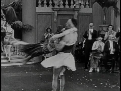 1920 MONTAGE Roaring Twenties party