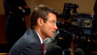 Rob Andrew and Martin Johnson interviews INT Andrew interview SOT Interviewer speaking to Johnson Andrew speaking to reporter Andrew interview SOT...