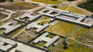 Robben Island  - Aerial View - Western Cape,  South Africa