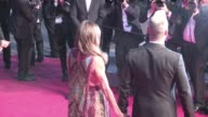 Robbie Williams and wife AYda Field on the red carpet of The Sea of Trees film at 2015 Cannes Film Festival Cannes France 16th 2015