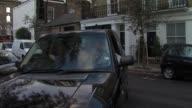 Robbie Williams arrives at Sleeper Studios Celebrity Video Sightings in London on October 29 2012 in London England