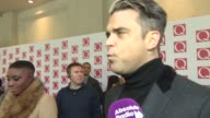 INTERVIEW Robbie Williams on being at the Q Awards his new album on at Q Awards 2013 at The Grosvenor House Hotel on October 21 2013 in London England