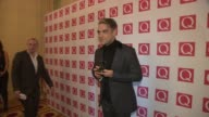 INTERVIEW Robbie Williams on winning the 'Q Idol Award' at Q Awards 2013 at The Grosvenor House Hotel on October 21 2013 in London England