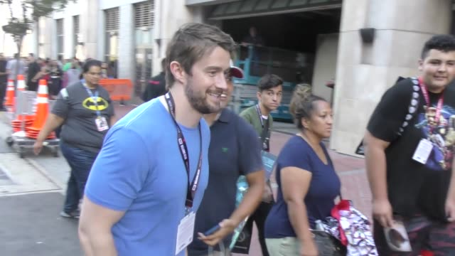 Robert Buckley walking around at San Diego Comic Con in San Diego in Celebrity Sightings in San Diego