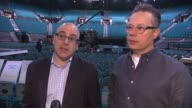 INTERVIEW Robert Deaton and Mark Bracco at MGM Grand on May 15 2015 in Las Vegas Nevada