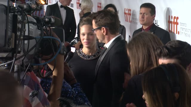 Robert Downey Jr and Susan Downey 'The Judge' Premiere 2014 Toronto International Film Festival at Roy Thomson Hall on September 04 2014 in Toronto...