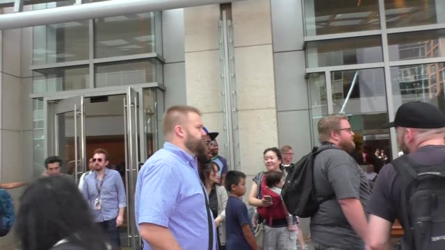 Robert Kirkman at Celebrity Sightings at San Diego ComicCon International on July 22 2017 in San Diego California