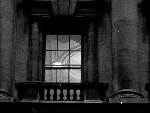 Ministry of Defence general view ENGLAND London Window of Ministry of Defence Broadcast at 9pm 555pm