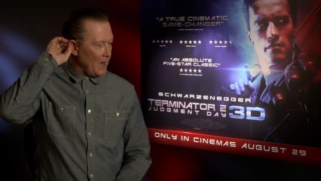 INTERVIEW Robert Patrick on giving Donald Trump a chance at '3D Release of 'Terminator 2 Judgement Day' Interview at The Mayfair Hotel on June 13...