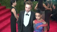 Robert Pattinson and FKA Twigs at 'China Through The Looking Glass' Costume Institute Benefit Gala Arrivals at Metropolitan Museum of Art on May 04...