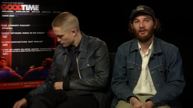 INTERVIEW Robert Pattinson Joshua Safdie on the characters in the film on how Iggy Pop summed them up in his song for the film at 'Good Time'...