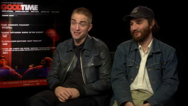 INTERVIEW Robert Pattinson Joshua Safdie on working with the Zellner brothers for 'Damsel' at 'Good Time' Interview 61st BFI London Film Festival at...