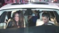 Robin Antin Kim Kardashian Mark Ballas Pia Toscano at Katsuya in Hollywood
