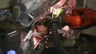 HD-Roboter Schweißen auf dem Body