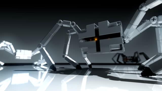 Robotic Spiders