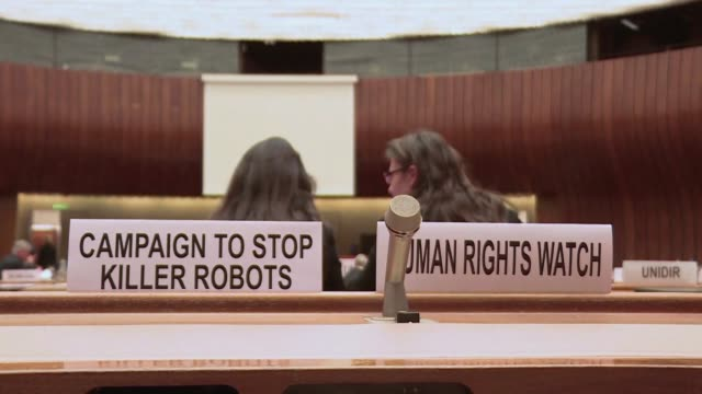 Robots are not taking over the world the diplomat leading the first official talks on autonomous weapons assures seeking to ease criticism over slow...
