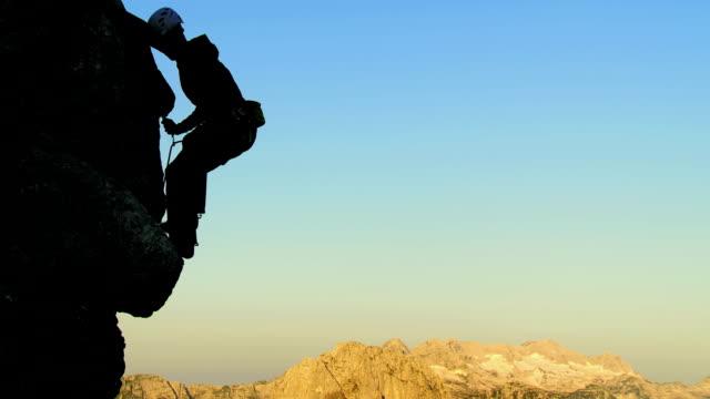 HD: Rock Climber Chalking His Hand