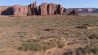 Rock formation in Monument Valley