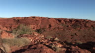 MS PAN Rock formations in Kings Canyon, Northern Territory, Australia