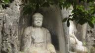 Rock reliefs in Temple