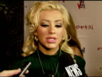 Rock The Vote Teams Up With Society For The Nationwide Launch At Kitson With Christina Aguilera Beverly Hills CA 11/13/07 in Hollywood California on...
