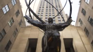 Rockefeller Establishing shot - New York City - summer 2016 - entrance