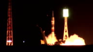 A rocket carrying a Soyuz spacecraft blasted off into space early Thursday morning to take to the International Space Station three astronauts from...