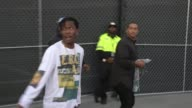 Rocky aka Rakim Mayers arriving to the Straight Outta Compton Premiere at LA Live in Los Angeles Celebrity Sightings in Los Angeles CA on