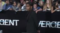 Rocky at the 'Divergent' Los Angeles Premiere at Regency Bruin Theatre on March 18 2014 in Los Angeles California