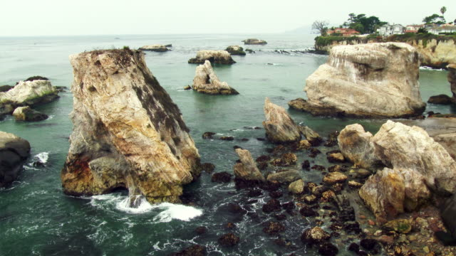 Rocky Coastline in Shell Beach