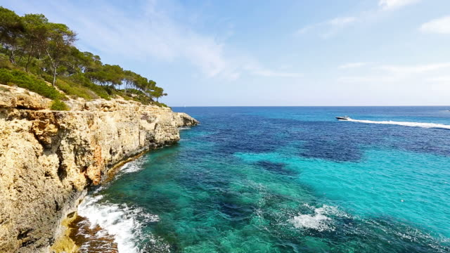 Rocky coastline of Majorca