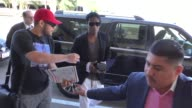 Rocky departing at LAX Airport in Los Angeles in Celebrity Sightings in Los Angeles