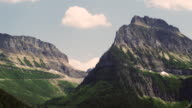 Rocky Mountains in Banff National park in Alberta Canada real time