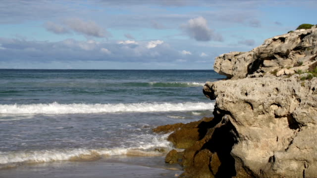 WS Rocky outcrop at Arniston beach / Arniston/ Western Cape/ South Africa